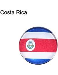 8d216d386d37 QINCH Broche de Broche Creativo Brillante - Moda Rusia Copa del Mundo 32  Países Banderas Nacionales Broche Broche Ropa Amante… EUR 14