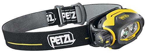 Petzl Lampe Frontale Adultes Pixa 3, Noir/Jaune, Taille Unique, E78CHB