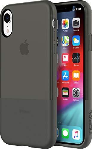 Incipio NGP Schutzhülle für Apple iPhone XR - schwarz [Stoßfest I Reißfest I Flexibel I Transparent I Qi kompatibel] - IPH-1751-BLK