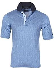 Paul & Shark Polo Poloshirt A rayas Azul Claro S