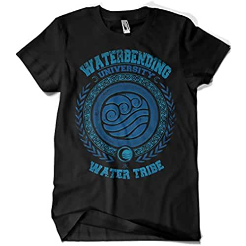 dia del orgullo friki 625-Camiseta Waterbending University (Typoonic)