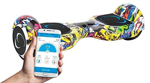 """SmartGyro X2 Street- Patinete eléctrico con Certificado UL2272, Ruedas Run-Flat Talla 6.5"""",color Multicolor"""