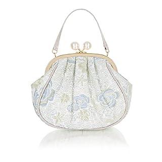 Ruby Shoo Women's Blue Arco Pouch Evening Bag
