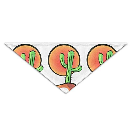 Pet Bandanas Kaktus Sun Dog Bandanas Schals Dreieck Lätzchen Schals Mode Grundlegende Hunde Halstuch Katze Halsbänder - Giant Plaid Shirt