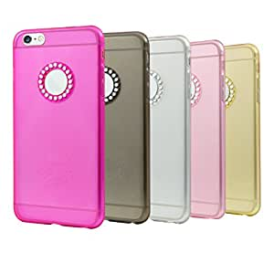 iPhone 6 Case, Besgoods Bundle of 5pack iPhone 6 Cover Colorful Clear Durable Shell Slim Case [Scratch Resistant] Flexible TPU Soft Bumper Case Rubber Protective Shell for iPhone 6/6S 4.7 inch