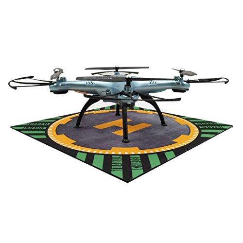 Xmansky Drohne tragbar Parken Schürze / Landung Auflage für DJI MAVIC PRO SPARK 3DR S6 (Schwarz)