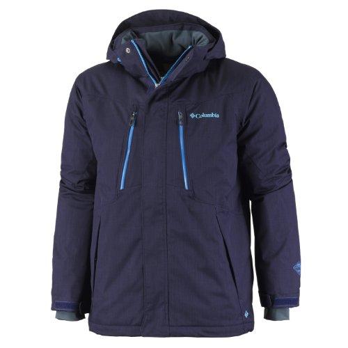 Columbia Herren Skijacke Alpine Action, ebony blue melange, XXL, SM4009
