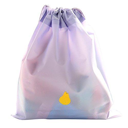 MSYOU - 2 bolsas de almacenamiento de polietileno pequeñas con cordó