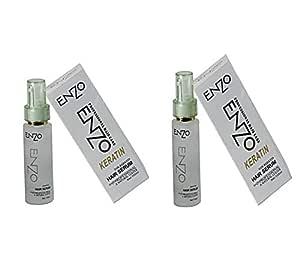 Enzo Keratin Professional Hair serum |100g| pack of 2|