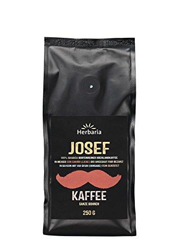 Herbaria Bio Kaffee 3er Probierset, Sophia, Anna und Josef (ganze Bohne), 3 x 250 g