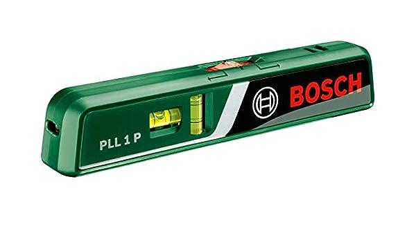 Laser Entfernungsmesser Mit Wasserwaage : Amazon bosch pll p laser wasserwaage