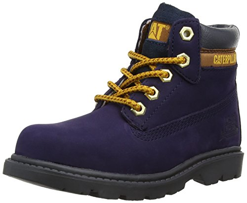 Caterpillar Colorado Plus, Bottes Garçon Bleu (Evening Blue)