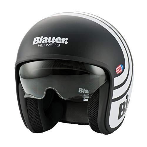 Blauer HT Pilot 2.0 Casque de moto Noir mat