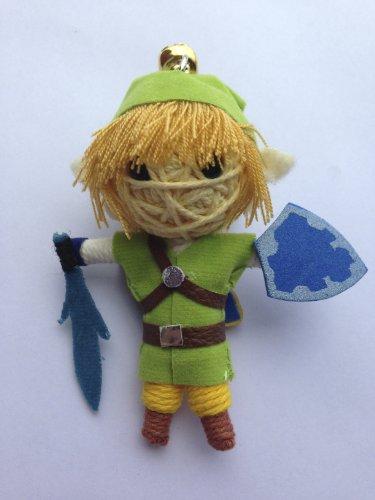 Link von Legend of Zelda Voodoo String Schlüsselanhänger mit Puppe