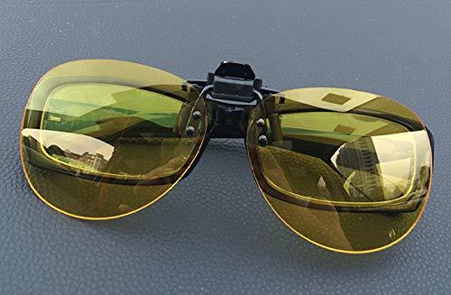 Myopie Brille polarisierte Linsen Sonnenbrille Nachtsicht Sonnenbrille Clips Männer und Frauen Modelle Fahren Angeln Treiber Clips Typ Neue schwarz grau polarisierte Clips, Neue gelbe Nachtsicht Pola