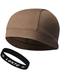 Skullcap Sport Hat Skully Helmet Flexible Unisex Gorra Gorra de bicicleta  transpirable de secado rápido para 8dddb02fdc8