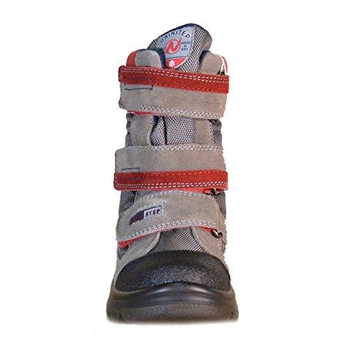 Naturino Naturino Rainstep Chaussures-Garçon Imperméables Doposci Colorado Gris - gris
