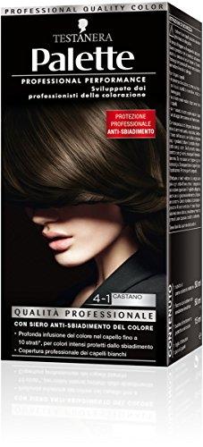 teinture pour les cheveux 4-1 brun