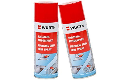 Price comparison product image Würth Stainless Steel 2 x 400 ml Care Cleaner Stainless Steel