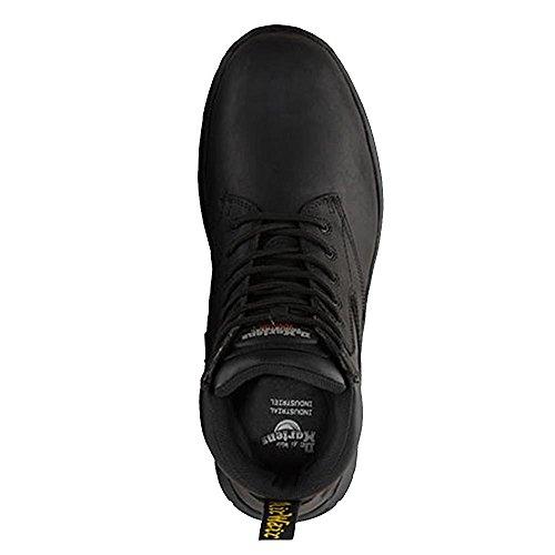 Dr. Martens  Corvid S1p, Chaussures bateau pour homme noir noir Noir