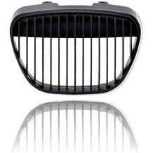 akhan kg501b – Sport parrilla enfriador para Negro Adecuado Para Seat Ibiza 6L