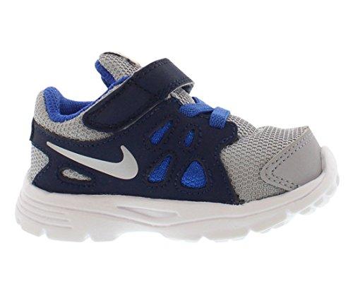 Nike Revolution 2 Psv, Chaussures de Sport Garçon Grey/Navy