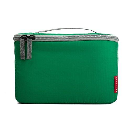 Crumpler TIZP-S-004 Inlay Zip Pouch Kamera Polstereinsatz Schutztasche (Größe: S) grün