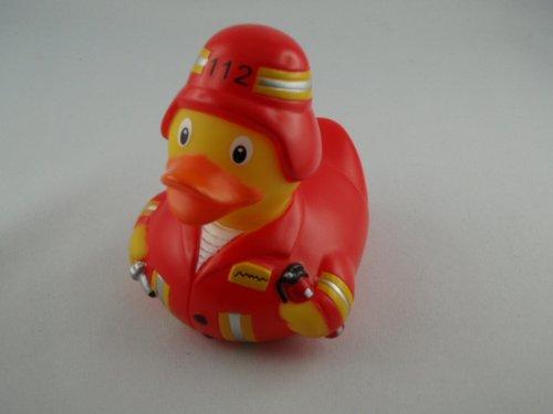 LiLaLu Feuerwehr Ente (Klebeband Ente)