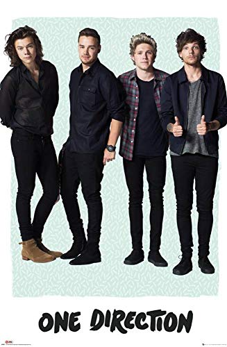 Yutirerly One Direction- Mint Brown Poster 38x26 in