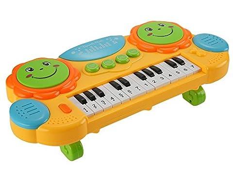 ZEARO 14 Touches Multifonctions Mini Electronique Claviers Piano Musique Jouet éducatif Cartoon-Jouets éducatifs Mini Piano