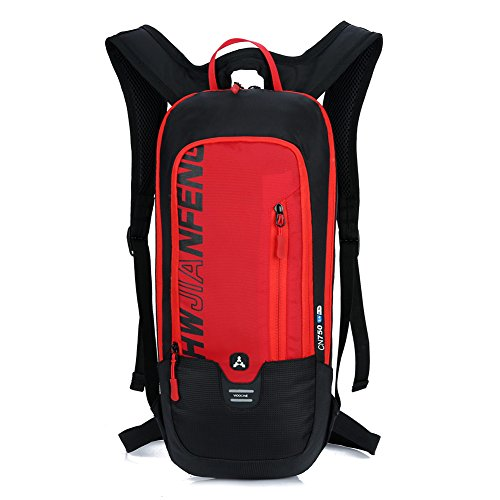 Imagen de  impermeable para correr en bicicleta senderismo ciclismo de montaña esquí de snowboard,  transpirable para deportes al aire libre camping / 10l rojo  alternativa