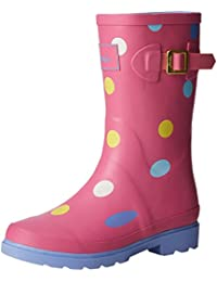 Joules Printed Welly - Botas Niñas