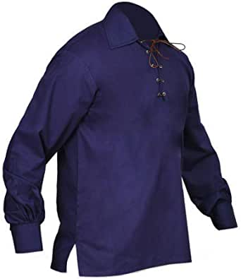 RAC3 New Scottish Jacobite Ghillie Kilt Shirt Men's Sizes Small to 5XL