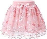 Agoky Falda Tul Tutu con Capas de Danza Ballet Vestido de Fiesta Boda Cumpleaños para Niña Vestido de Princesa