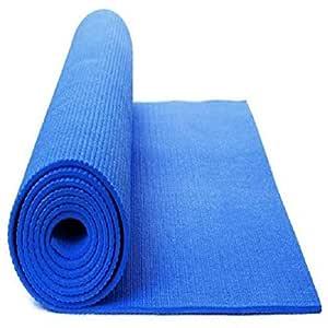 Effingo Blue Eco-Friendly Yoga and Exercise Mat (3 mm)