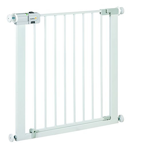 Safety 1st Easy Close   Barrera de puerta  de metal  color blanco