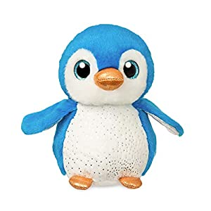 Aurora- Sparkle Tales Pingüino Peluches y muñecas, Color Azul y Blanco (61024)