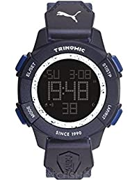 Puma Digital Black Dial Men's Watch - PU911271004