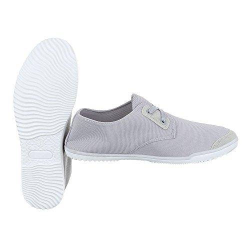 Ital-Design - Pantofole Donna Grau