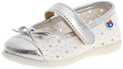 Conguitos  HVS10231, Chaussures souples pour bébé (fille) Argenté