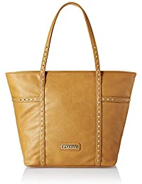 Caprese Women Tote Bag (Ochre)(TEAUSLGACR)