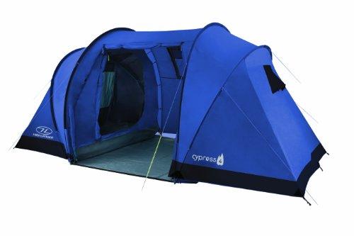 Highlander Cypress 4 Tente 4 Personnes Bleu