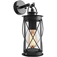 Amazon outside outdoor wall lights outdoor lighting lighting outdoor wall lantern down light black metal stainless steel vintage garden lamp ip44 zlc014 workwithnaturefo