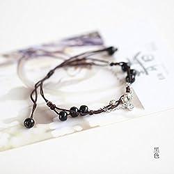 HRCxue La préparation manuelle des jeune fille en céramique bracelet miel et mobilier contemporain frais