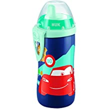 2x NUK Kiddy Cup Fußball-Edition je 300ml unzerbeißbar /& auslaufsicher BPA frei