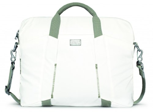 Built CE-LTSB-OWH City Collection Slim Tasche für Laptop weiß (Collection Material System)