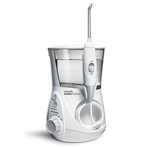 Waterpik WP-660EU Irrigador Bucal Eléctrico Irrigador Dental, Color Blanco