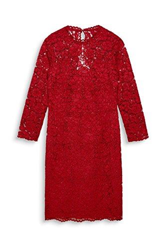 ESPRIT Collection Damen Partykleid Rot (Dark Red 610)