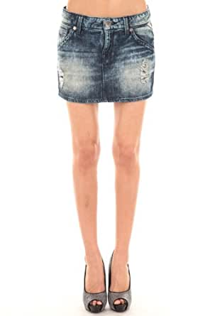 Jupe Jeans Replay Bleu Delave T26