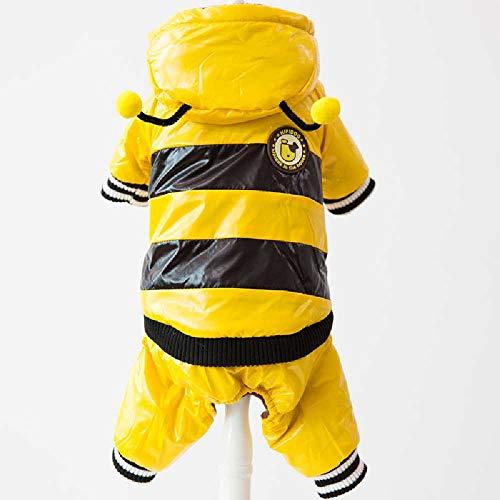 TUOTANG Haustiere Verwandelten Sich in Teddy Hundebekleidung Haustiere Herbst Und Winter VIP Vier Fuß Dicke Warme Kleidung XL/Biene transformiert (Hunde Biene Kostüm Xl)